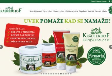 Lansiran sajt www.krauterhof.rs
