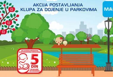 Kompanije Keprom i Aksa daju podršku dojenju