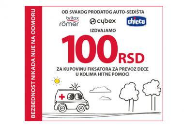 Kompanija Keprom odvaja sredstva za kupovinu fiksatora za bezbedan prevoz dece u kolima Hitne pomoći