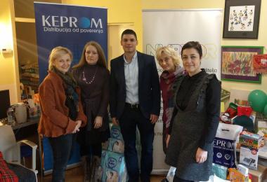 Kompanija Keprom uručila donaciju NURDOR-u