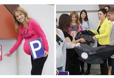 Kompanija Keprom podržala akciju obeležavanja parking mesta za trudnice