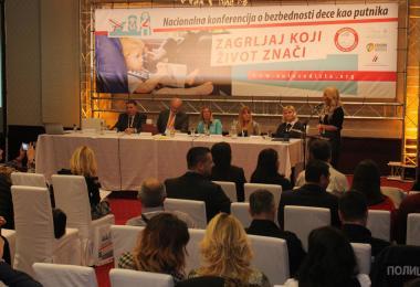 Kompanija Keprom podržala Prvu nacionalnu konferenciju o bezbednosti dece kao putnika