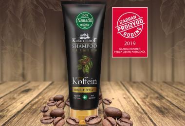 Kräuterhof kofeinski šampon double effect dobio nagradu Izabrani proizvod godine