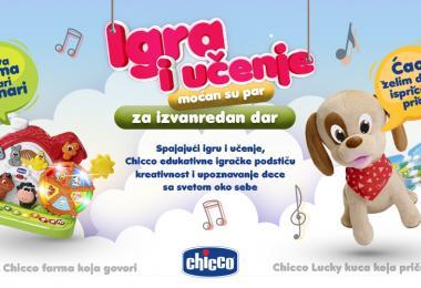 Priznanje kompaniji Keprom za razvoj edukativnih Chicco igračaka