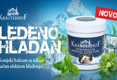Kräuterhof  plavi konjski balzam - novi proizvod u ponudi kompanije Keprom