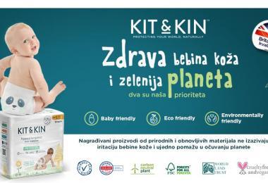 Kit&Kin pelene, maramice i kozmetika, novi eco friendly proizvodi u ponudi kompanije Keprom